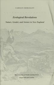 Cover of: Ecological revolutions