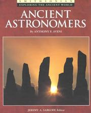 Cover of: Ancient astronomers