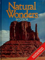 Cover of: Natural wonders | Tony Harvey