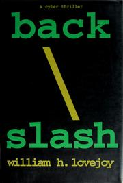 Cover of: Back/slash | William H. Lovejoy
