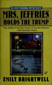 Cover of: Mrs. Jeffries holds the trump