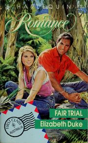 Cover of: Fair trial | Elizabeth Duke
