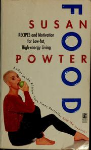 Cover of: Food | Susan Powter