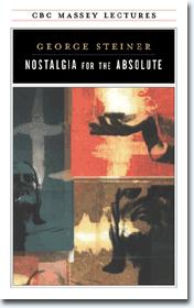 Cover of: Nostalgia for the absolute