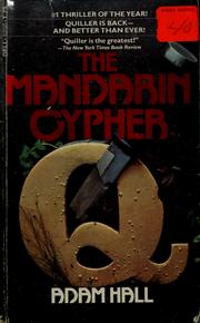 Cover of: The Mandarin Cypher