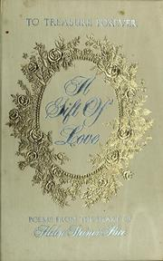 "Cover of: ""A gift of love"""