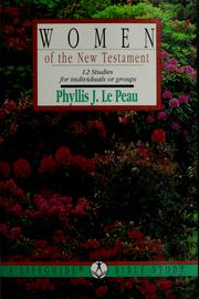 Cover of: Women of the New Testament