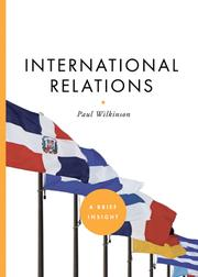 Cover of: International Relations |