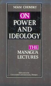 Cover of: On power and ideology: the Managua lectures