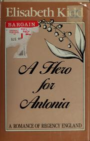 Cover of: A Hero for Antonia