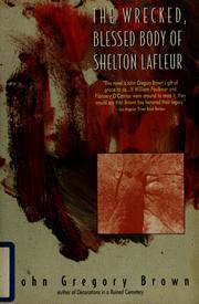 Cover of: The wrecked, blessed body of Shelton Lafleur | John Gregory Brown