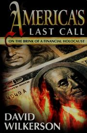 Cover of: America's Last Call