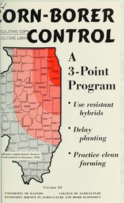 Cover of: Corn-borer control