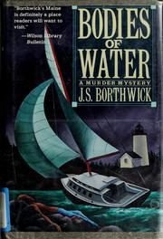Cover of: Bodies of water