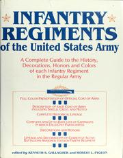 Cover of: Infantry Regiments Of The Unit | RH Value Publishing