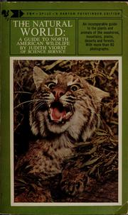 Cover of: The natural world: a guide to North American wildlife.