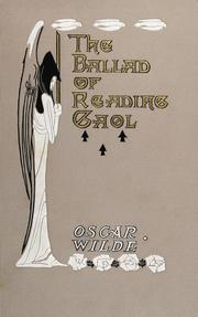 Cover of: The Ballad of Reading Gaol