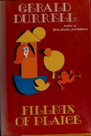 Cover of: Fillets of plaice