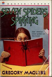 Cover of: Seven spiders spinning