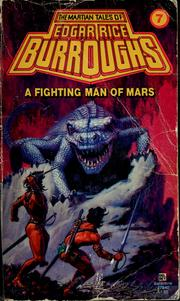 Cover of: A fighting man of Mars | Edgar Rice Burroughs