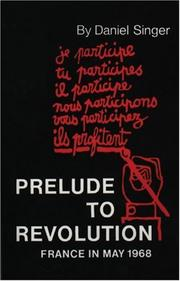 Cover of: Prelude to Revolution