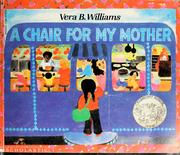 Cover of: A chair for my mother | Vera B. Williams