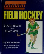 Cover of: Field hockey
