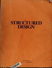 Cover of: Structured design