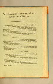 Cover of: Entretenimento interessante de experimentos chimicos