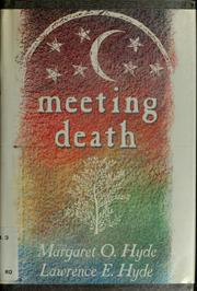 Cover of: Meeting death