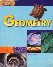 Cover of: Geometry for Christian schools