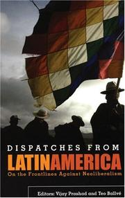 Cover of: Dispatches from Latin America