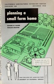 Planning a small farm home 1950 edition open library Farm plan