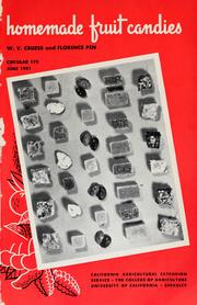 Cover of: Homemade fruit candies