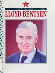 Cover of: The Secretary of the Treasury through Lloyd Bentsen | Hamilton, John
