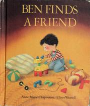 Cover of: Ben finds a friend