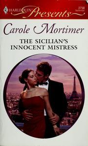 The Sicilian's innocent mistress