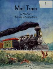 Cover of: Mail train