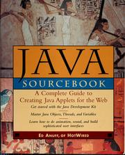 Cover of: The Java sourcebook