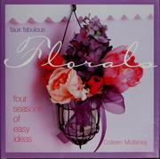 Cover of: Faux fabulous florals | Colleen Mullaney