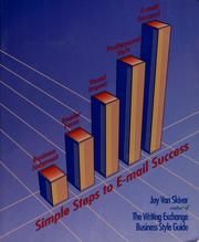 Cover of: Simple steps to e-mail success