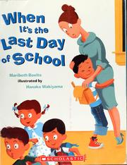 Cover of: When it's the last day of school
