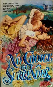 Cover of: No choice but surrender