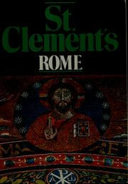 Cover of: A short guide to St. Clement's, Rome