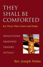 Cover of: They shall be comforted