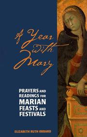 Cover of: A Year With Mary