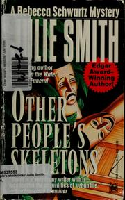 Cover of: Other people's skeletons