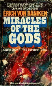 Cover of: Miracle of the gods