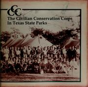 Cover of: The Civilian Conservation Corps in Texas state parks