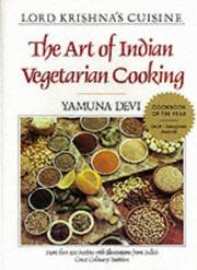 Cover of: The art of Indian vegetarian cooking | Yamuna Devi